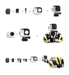 HD Sport Action Camera Helmet Cam for Car, Bicycle Waterproof Diving pictures & photos