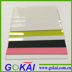 Clear and Colorful Acrylic Sheet for Sign Board pictures & photos