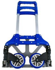 Aluminum Domestic Ladder with Blue Color pictures & photos