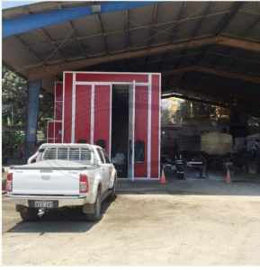 Large Size Auto Spray Paint Booth with CE Approved pictures & photos