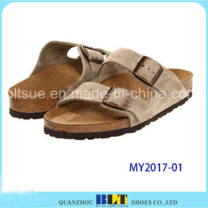 New Design Rubber Sole Men Cork Sandals pictures & photos