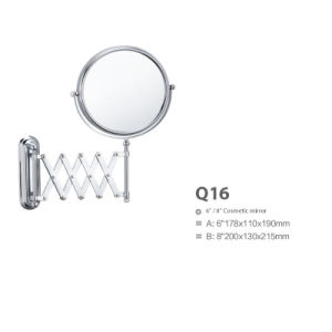 Extendable Stainless Steel Bathroom Wall Decorative Mirror Q16 pictures & photos