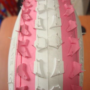 Kids Bike Tyre Full Color with White Color Line pictures & photos