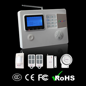 Home Security Wireless GSM Dual Network Burglar Alarm System with APP Control pictures & photos