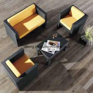 Cheap Patio Furniture modern Sofa Bed Waterprrof Rattan Furniture Sofa (YT195) pictures & photos
