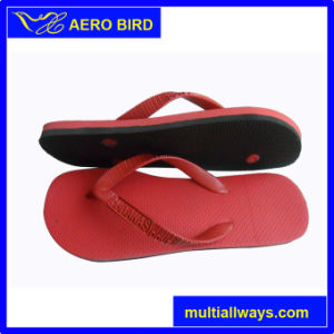 Two Layer Slippers for Men with Novel Straps pictures & photos