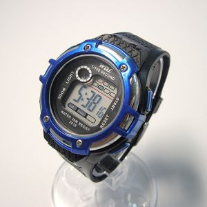 Cool Silicone Digital Sport Wrist Watch pictures & photos