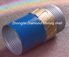 Impregnated Diamond Core Drill Bits with High Quality Synthetic Diamonds and High Working Performance pictures & photos