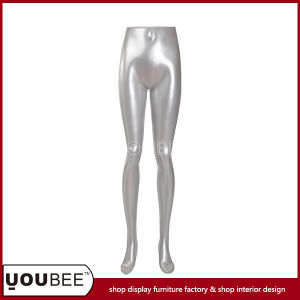 Durable Female Fiberglass Mannequin Torso Leg for Clothes Store Display pictures & photos