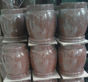 Red Granite Cremation Urns Factory Direct pictures & photos