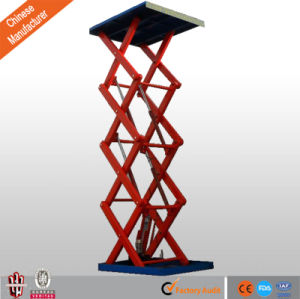 Fixed Scissor Lift for Cargos, Goods Lift with Scissor Type pictures & photos