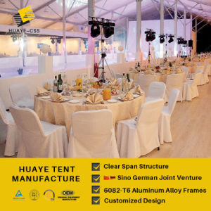 Big Large Wedding Aluminum Tent for Wedding Party (HAF 20M) pictures & photos