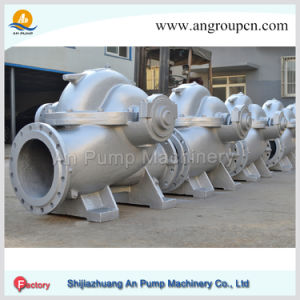Double Suction Pump Centrifugal Horizontal Single-Stage Pump Irrigation Pump pictures & photos