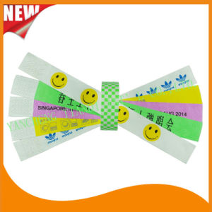 Entertainment Tyvek Customed Cheap Party VIP Wristbands (E3000-2-6) pictures & photos