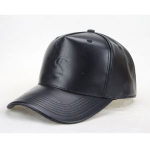 Customize Leather Strap Quality Baseball Cap pictures & photos
