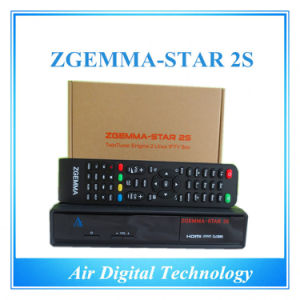 Black Color Zgemma-Star 2s Twin Tuner HD Satellite Receiver pictures & photos