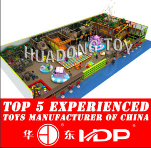 High Quality Huadong Indoor Playground Amusement Equipment Park Hot Sale (HD15B-13A) pictures & photos