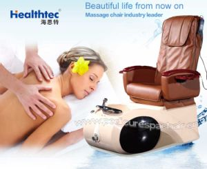 Easy Used Chocolate Brown Foot Massage Machine Price pictures & photos