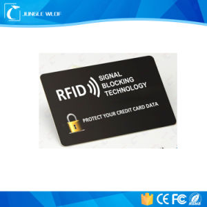 RFID Blocking Shield Guard Cards for Protecting Wallet Security pictures & photos