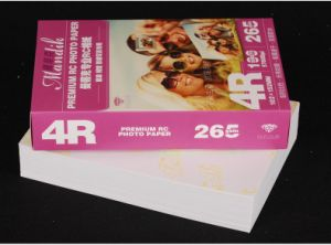 6 Inch RC Waterproof Glossy Photo Paper 4r for All Inkjet Printer