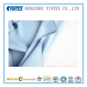 Knitted Sky Blue Thick Stretch Spandex Fabric for Home Textiles pictures & photos