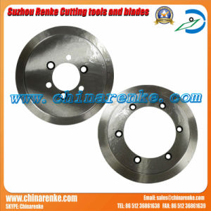 Round Carbide Corrugated Paper Machine Knives Cardboard Cutting Blades pictures & photos