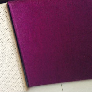 25mm Flame Retardant Micropore Fabric Acoustic Panel (2.5CMRFFBE) pictures & photos