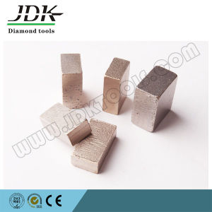 Rectangular Diamond Segment for Sunny Gold Marble Block pictures & photos