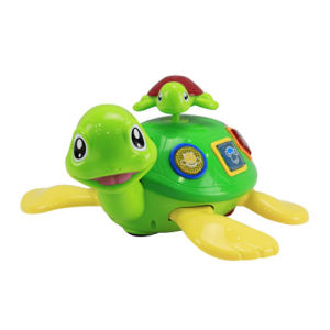 Plastic B/O Turtle Battery Operated Cartoon Toy (H7683082) pictures & photos