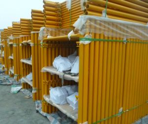 Shoring Frame Scaffolding 6′ X4′ with Canadian Lock Yellow Painted pictures & photos