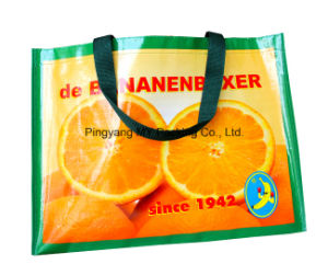 High Quality Easy Shopping BOPP Lamination PP Woven Promotion Bag pictures & photos