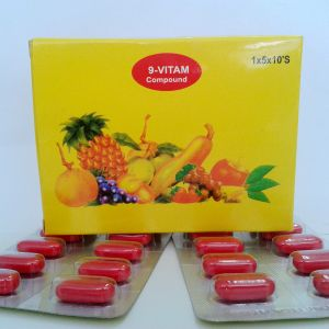 GMP 9 Compound Vitamins Tablets---Multivitamin pictures & photos
