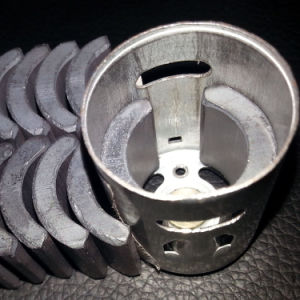 Custom Size Arc Motor Ferrite Magnet pictures & photos