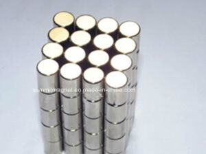 Strong Magnetic Permanent Cylinder Neodymium Magnet