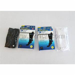 Anti-Fatigue Compression Slimming Miracle Socks pictures & photos
