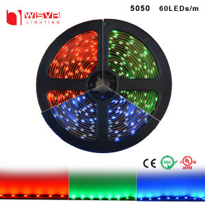 Good Performance DC12V 24V SMD5050 RGB LED Flexible Strip pictures & photos