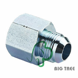 Jic Male / NPT Female 74 Degree Cone Hydraulic Adaptor pictures & photos