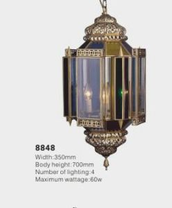 Luxury Brass Arabic Pendant Light (KA8848) pictures & photos
