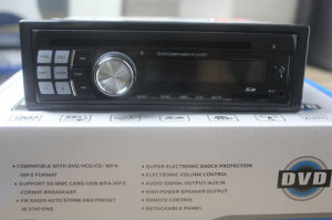 New One-DIN Car DVD/MP3 Player with Detachable Panel pictures & photos