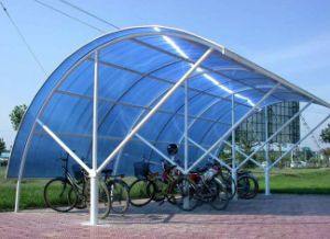 Zhejiang Aoci Anti-Scratch PC Solid Sheet for The Cover of Bicycle Parking Port pictures & photos