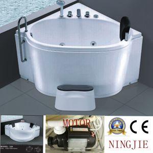 Acrylic Bathroom Sanitary Ware Massage Bath Tub (5254) pictures & photos