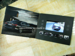 LCD Video Brochure 7inch Card for Promotional 2GB Memory
