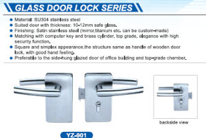 Stainless Steel Glass Door Lock pictures & photos