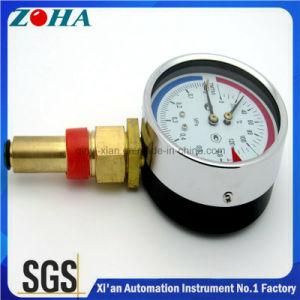 """100mm/4""""Diameter 46mm Stem Pressure Temperature Combination Gauge pictures & photos"""