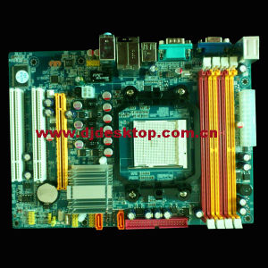 Hot Season Motherboard C68 2PCI+Pcie16+2*Ddrii +2*Ddriii+VGA +100m LAN Port pictures & photos