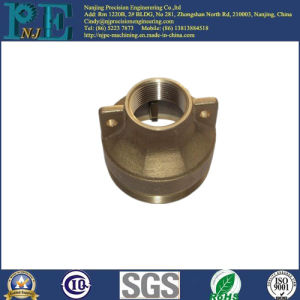 Customized Brass Casting Hydraulic Cylinder Head Assembly Parts pictures & photos