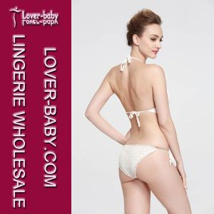 Sexy Lady Swimwear Suit Crochet Bikini Sets (L32581) pictures & photos
