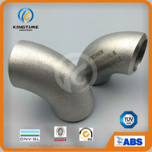 Stainless Steel Wp316/316L Butt Weld Fitting 90d Elbow Pipe Fitting with Dnv (KT0320) pictures & photos