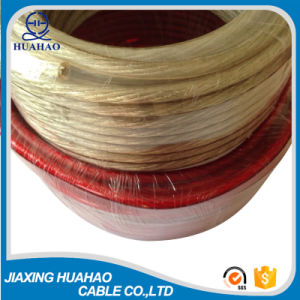 Copper Conductor Transparent PVC Jacket Speaker Cable/Wire Cable pictures & photos