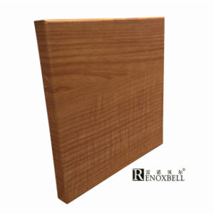 Wood -Like Aluminum Cladding Panel for Curtain Wall Decoration pictures & photos
